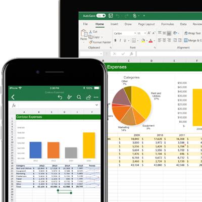 MS Office 2016 - Excel base con Solidarietà digitale