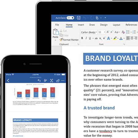 MS Office 2016 - Word è il programma più in uso per la stesura di testi, libri e tutto ciò che si può stampare o inviare in modo digitale.